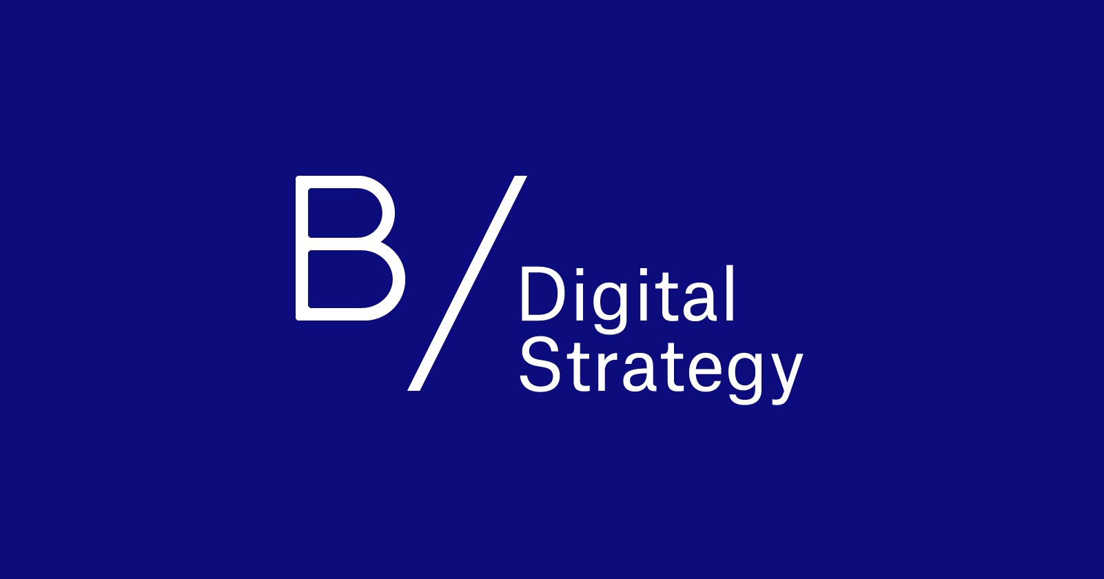 B/ Logo of Christian Bauer / Digital Strategy