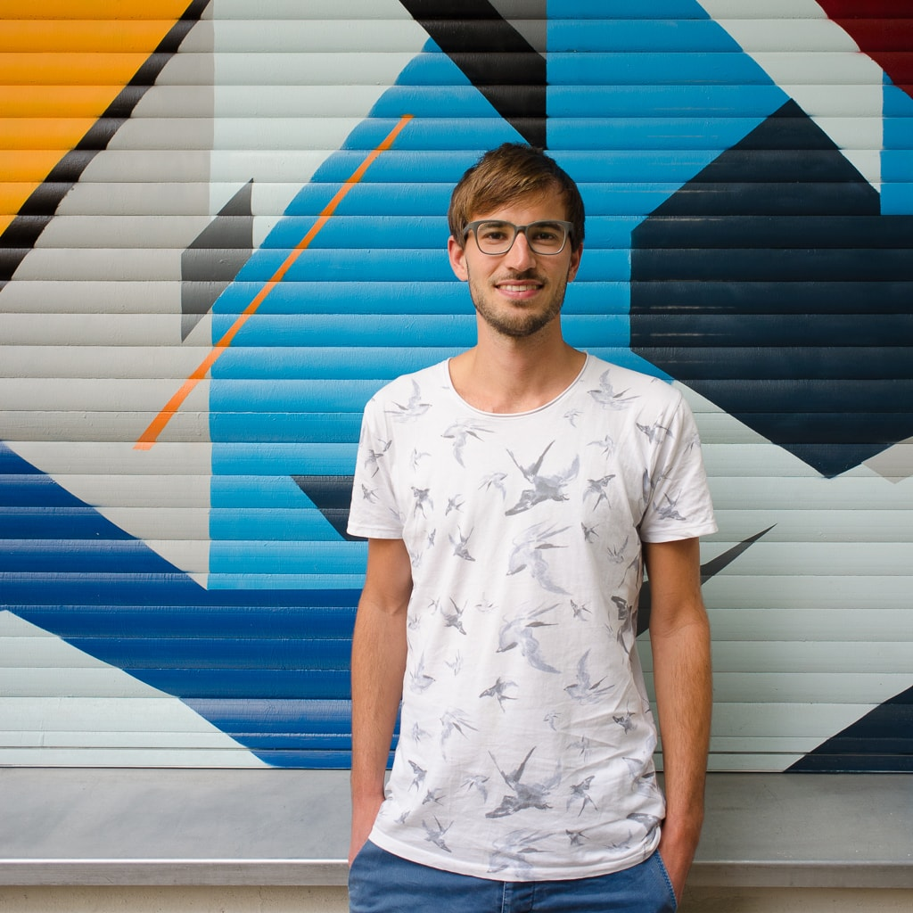 Porträt von Christian Bauer, Designer, Grafiker & Digital Strategist in Berlin und Wien